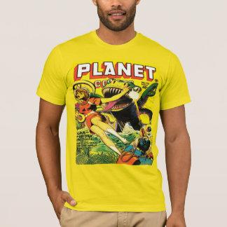 Camiseta TEBEOS SCI FI del PLANETA de los años 40