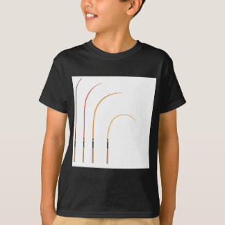Camiseta Tecnología doblada del clip art del ejemplo del