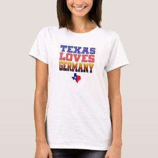 Camiseta Tejas ama Alemania