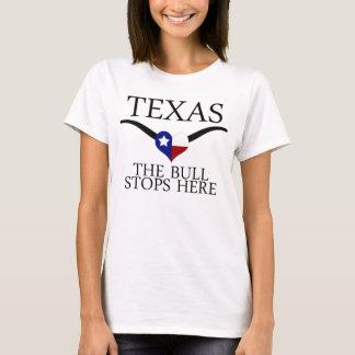 Camiseta Tejas - la Bull para aquí