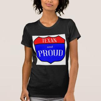 Camiseta Tejas y orgulloso