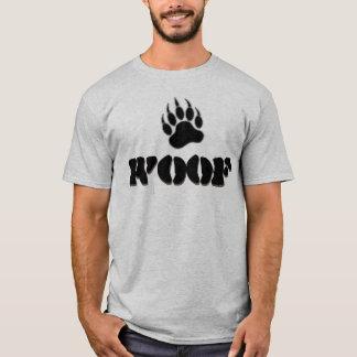 Camiseta TEJIDO gay de la pata de oso del orgullo del oso