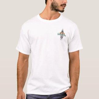 Camiseta Tela a rayas de los tiburones