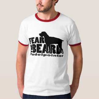 Camiseta Tema la barba - Pudelpointer