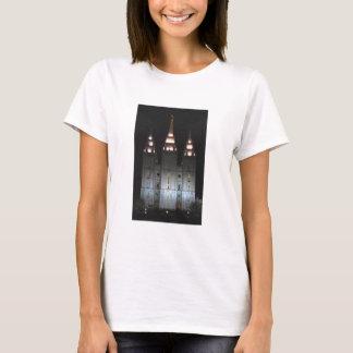 Camiseta Templo de Salt Lake en la noche