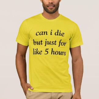 camiseta temporal de la muerte