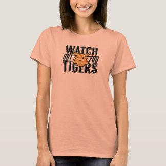 Camiseta Tenga cuidado para los tigres
