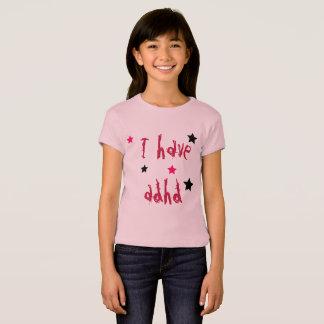 Camiseta Tengo ADHD