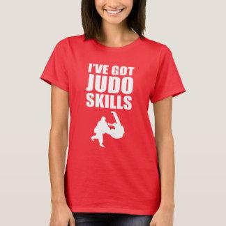 Camiseta Tengo artes marciales de las habilidades del judo