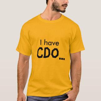 Camiseta Tengo, CDO…