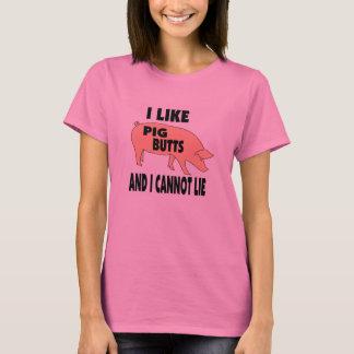 Camiseta Tengo gusto de extremos del cerdo y no puedo