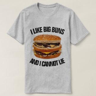 Camiseta Tengo gusto de los bollos grandes y no puedo