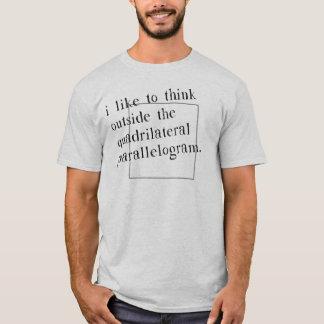 Camiseta Tengo gusto de pensar fuera de la caja
