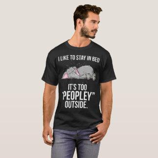 Camiseta Tengo gusto de permanecer en cama