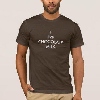Camiseta Tengo gusto del chocolate caliente