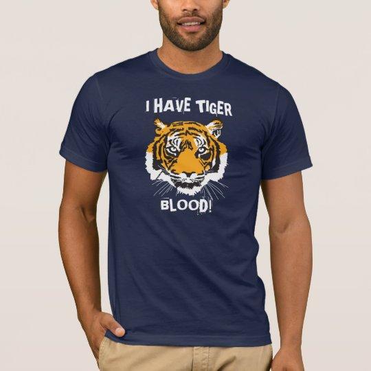 Camiseta Tengo sangre del tigre