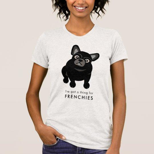 Camiseta Tengo una cosa para el dogo francés de los