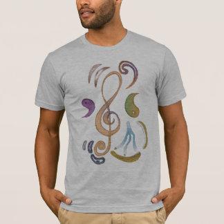 Camiseta teoría mezclada
