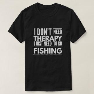 Camiseta Terapia de la pesca