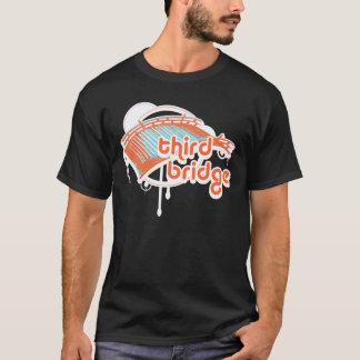 Camiseta tercer puente. orange&blue.