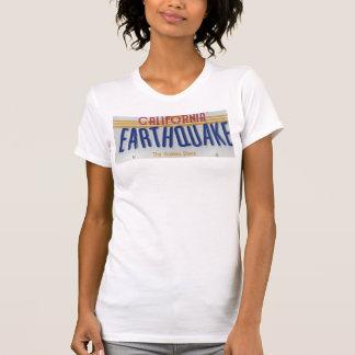 Camiseta terremoto de California
