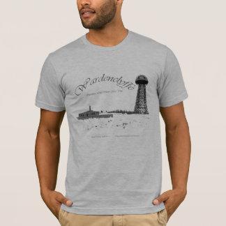 Camiseta Tesla-Radio Pwer de Wardenclyffe-Nikola