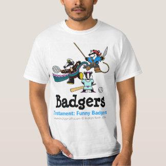 Camiseta TESTAMENTO: TEJONES DIVERTIDOS (TM) Dantoo, Hoth y