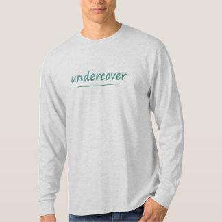 Camiseta Texto brillante secreto divertido de la turquesa