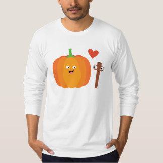 Camiseta Texto de la caída del amor de la especia de la
