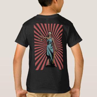 Camiseta Texto Justicia-Atractivo