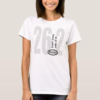 Camiseta Texto negro: 26,2 - ¡Lovin cada milla de ella!