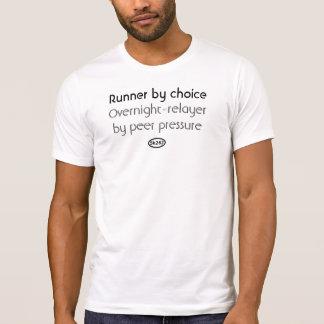 Camiseta Texto negro: Presión social (relevo de noche)
