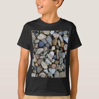Camiseta textura de las piedras