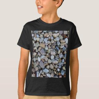 Camiseta textura de las rocas de las piedras