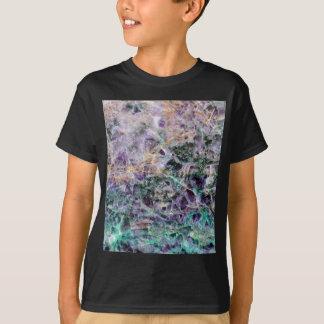 Camiseta textura de piedra amethyst