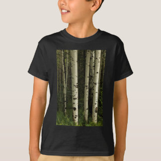 Camiseta Textura de un retrato del bosque