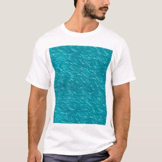 Camiseta Textura del agua estética