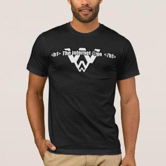 Camiseta The internet @ge t-shirt noir
