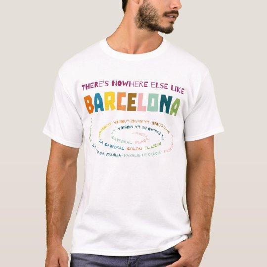 Camiseta There's nowhere else like Barcelona