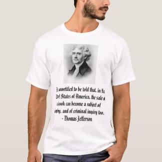 Camiseta Thomas Jefferson, mortified para ser dicho tha…