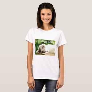 Camiseta Tiempo del panal del gato del gatito