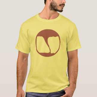 Camiseta Tiempo peligroso sobrevivido en nombre de la