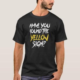 Camiseta Tiene usted encontrar la muestra amarilla - parte