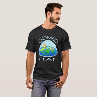 Camiseta TIERRA ABOVEDADA y PLANA el   debajo de la bóveda