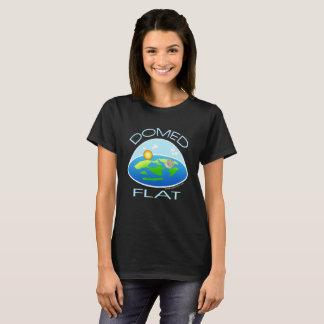 Camiseta TIERRA ABOVEDADA y PLANA el | debajo de la bóveda