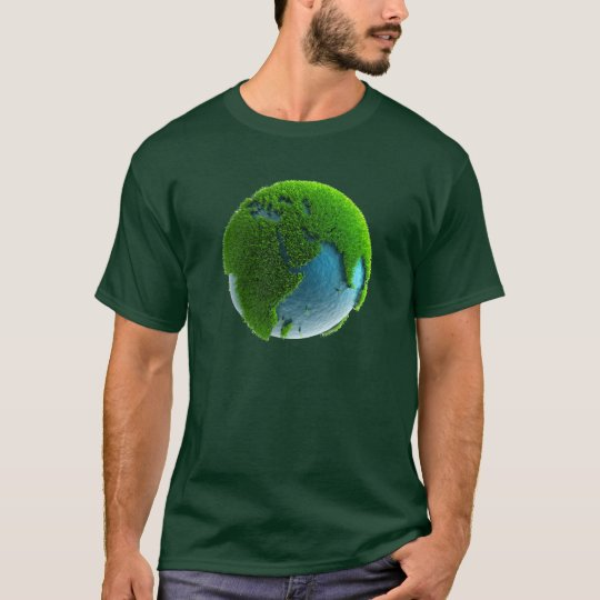 Camiseta Tierra de Agua y Hierba - M1