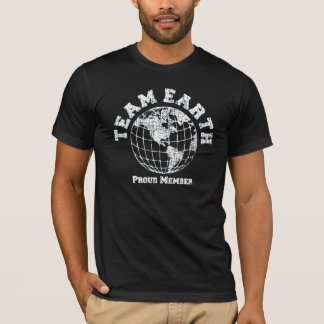 Camiseta Tierra del equipo: Miembro orgulloso