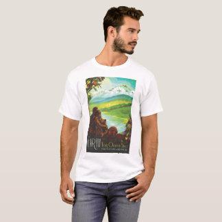Camiseta Tierra - su oasis en espacio