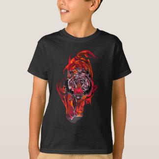Camiseta Tigre rojo