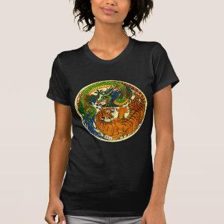 Camiseta Tigre y dragón Yin Yang